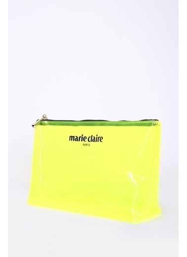 Marie Claire Makyaj Çantası Sarı